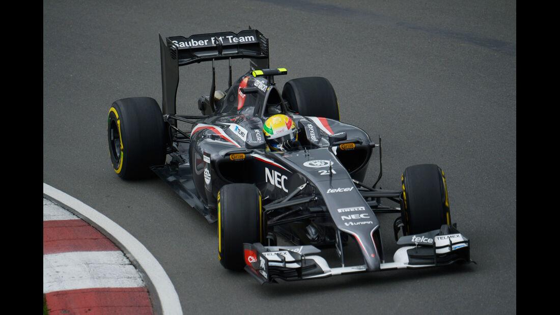 Esteban Gutierrez - Sauber - Formel 1 - GP Kanada - Montreal - 6. Juni 2014