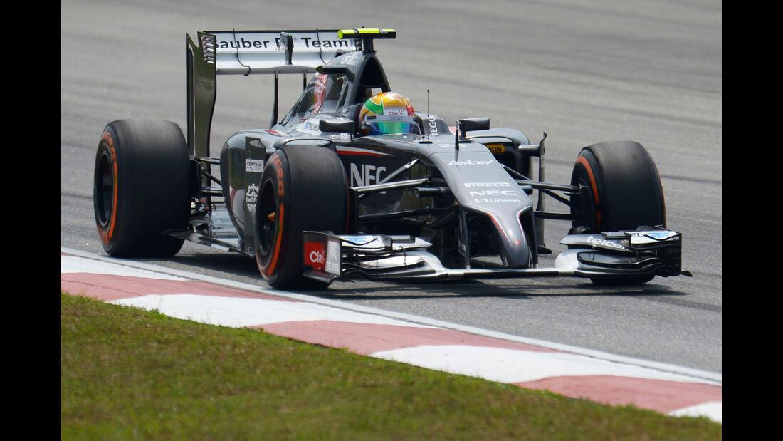 Esteban Gutierrez - Sauber - Formel 1 - GP Malaysia - Sepang - 28. März 2014