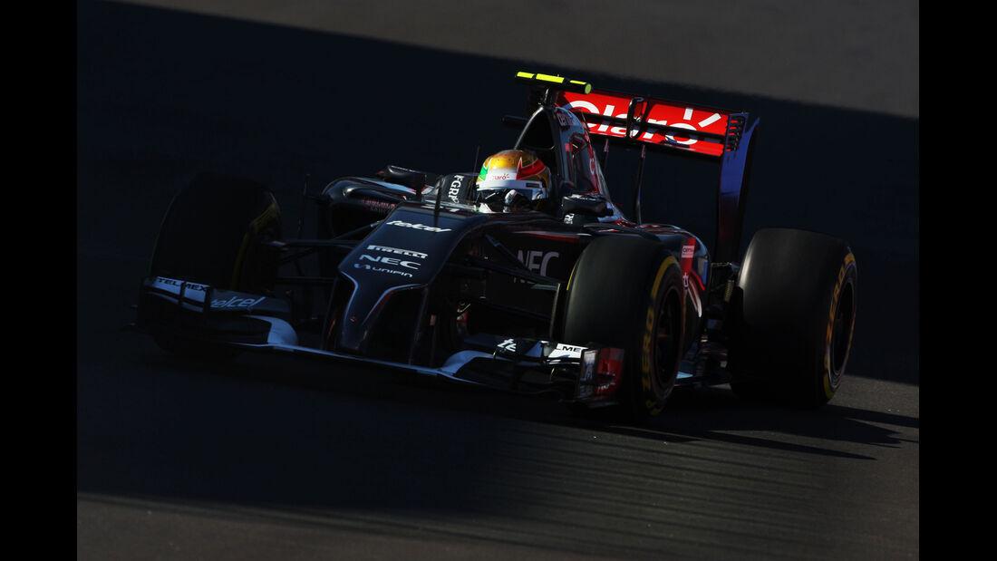 Esteban Gutierrez - Sauber - Formel 1 - GP Russland - Sochi - 10. Oktober 2014