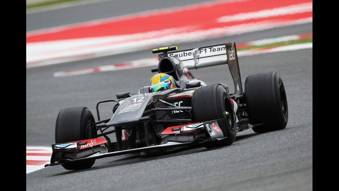 Esteban Gutierrez - Sauber - Formel 1 - GP Spanien - 10. Mai 2013
