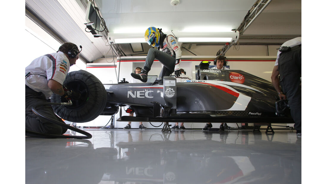 Esteban Gutierrez - Sauber - Formel 1 - GP Ungarn 2013