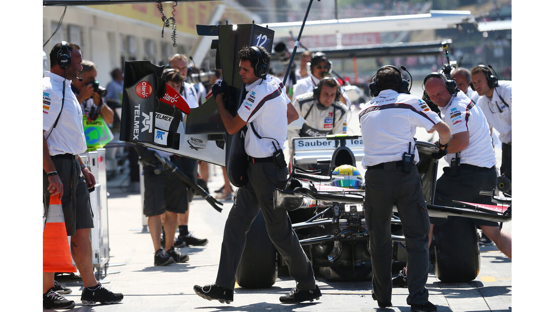 Esteban Gutierrez - Sauber - Formel 1 - GP Ungarn - 26. Juli 2013