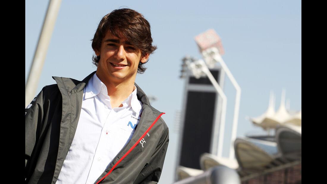 Esteban Gutierrez - Sauber - Formel 1 - Test - Bahrain - 22. Februar 2014