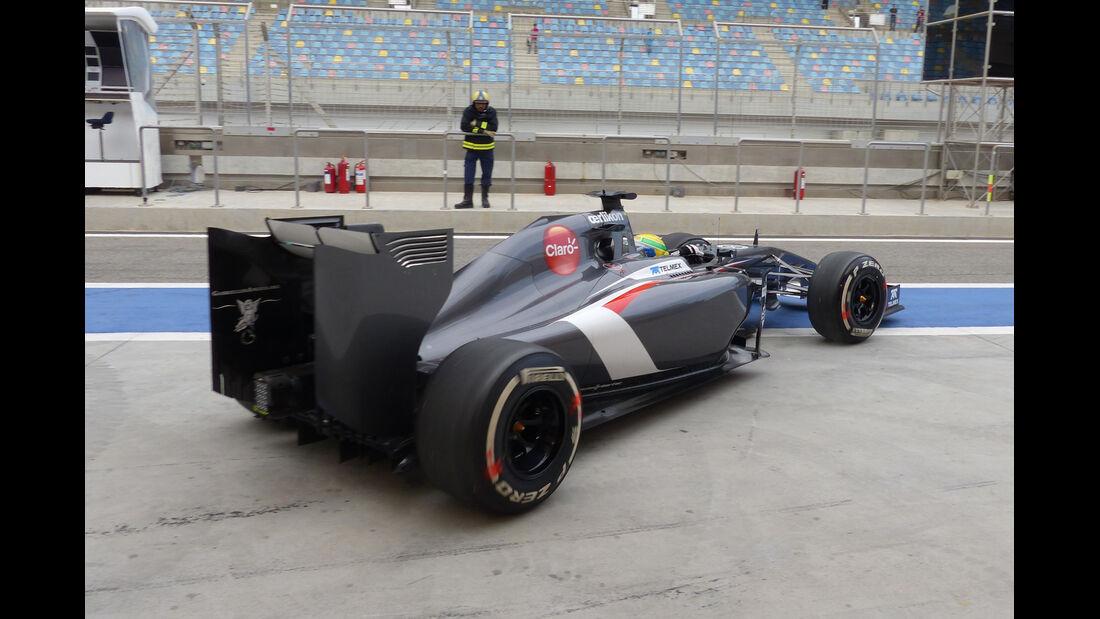 Esteban Gutierrez - Sauber - Formel 1 - Test - Bahrain - 28. Februar 2014