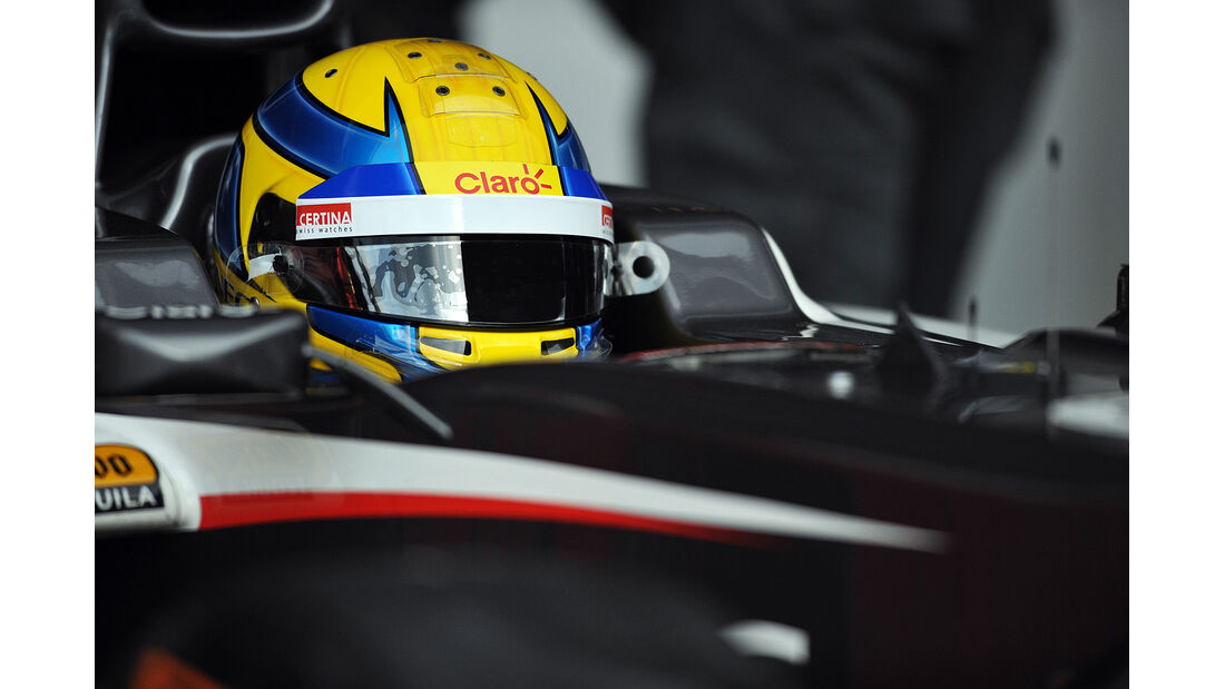 Esteban Gutierrez, Sauber, Formel 1-Test, Barcelona, 19.2.2013