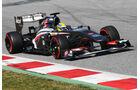 Esteban Gutierrez - Sauber - Formel 1 - Test - Barcelona - 2. März 2013