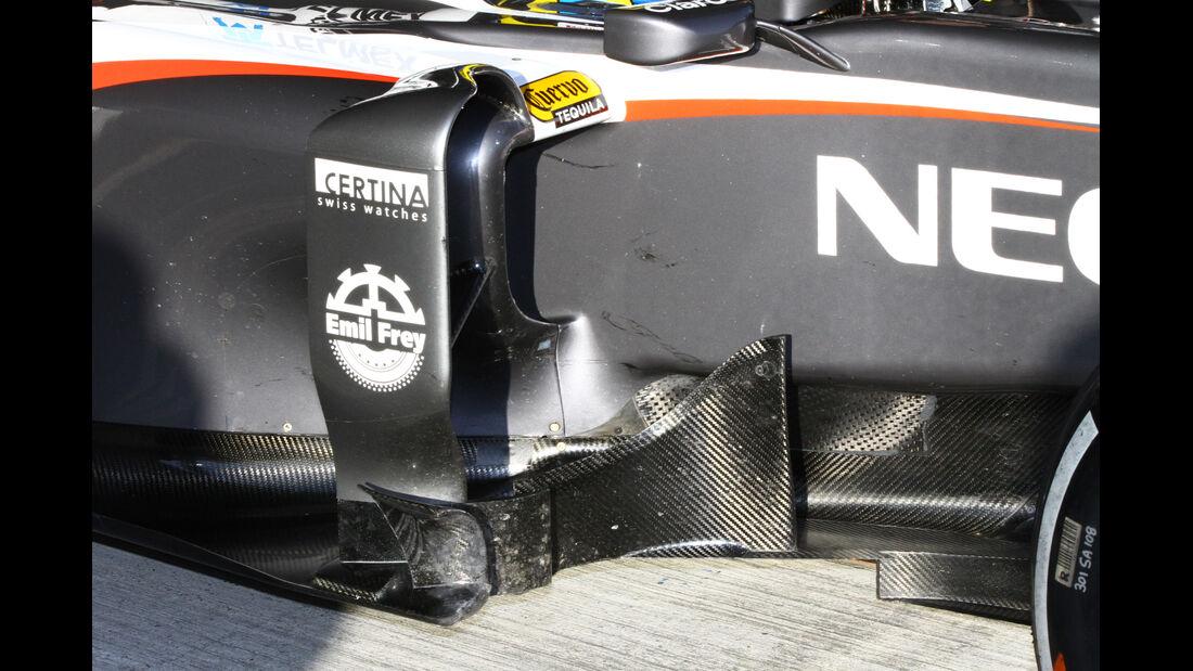 Esteban Gutierrez - Sauber - Formel 1 - Test - Jerez - 8. Februar 2013