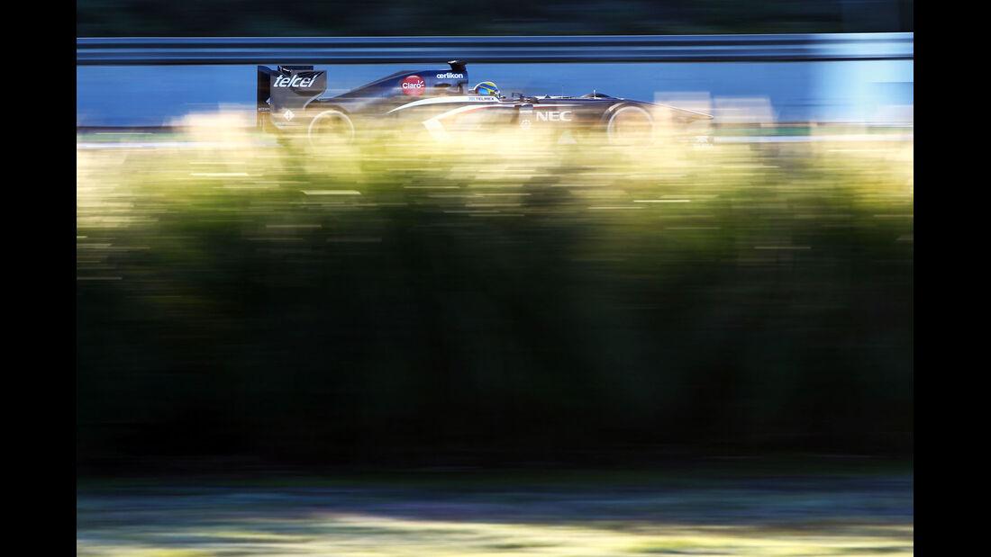 Esteban Gutierrez, Sauber, Formel 1-Test, Jerez, 8. Februar 2013