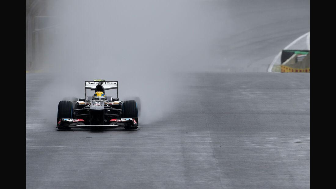 Esteban Gutierrez - Sauber - GP Brasilien - 23. November 2013