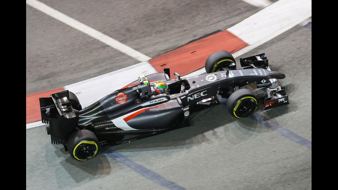 Esteban Gutierrez - Sauber - GP Singapur 2014