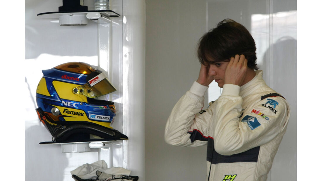 Esteban Gutierrez - Sauber - Young Driver Test - Abu Dhabi - 17.11.2011