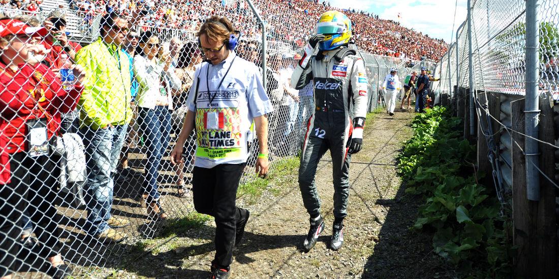 Esteban Guttierez - GP Kanada 2013