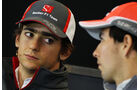 Esteban Guttierez & Sergio Perez - Formel 1 - GP USA - 14. November 2013