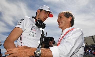 Esteban Ocon - Alain Prost - Formel 1