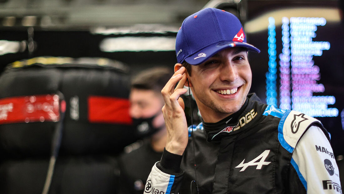 Esteban Ocon - Alpine - Formel 1 - GP Aserbaidschan 2021 - Baku