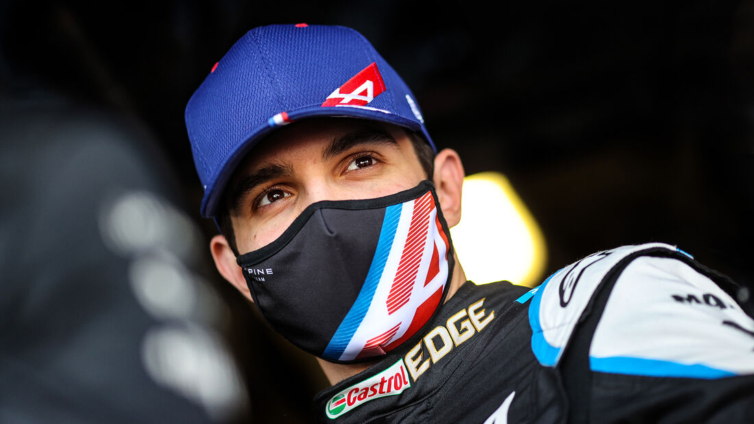 Esteban Ocon - Alpine - Formel 1 - GP Aserbaidschan - Baku - Freitag - 4.6.2021