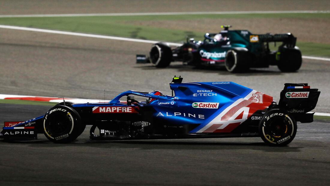 Esteban Ocon - Alpine - Formel 1 - GP Bahrain 2021 - Rennen