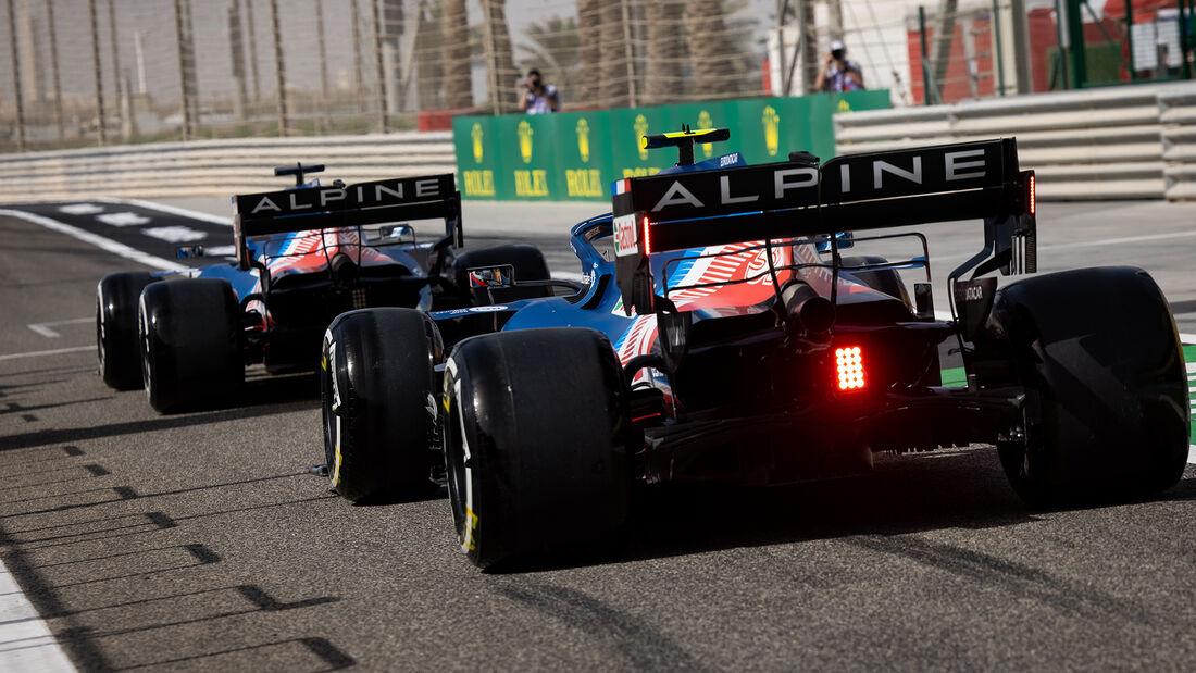 Esteban Ocon - Alpine - Formel 1 - GP Bahrain - Freitag - 26.3.2021