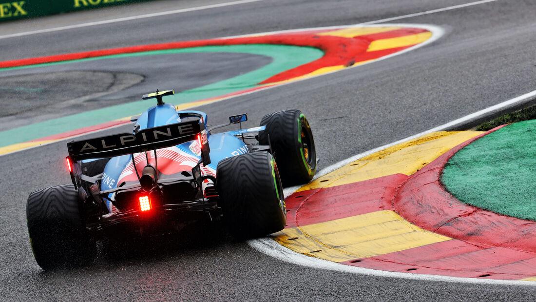 Esteban Ocon - Alpine - Formel 1 - GP Belgien - 28. August 2021
