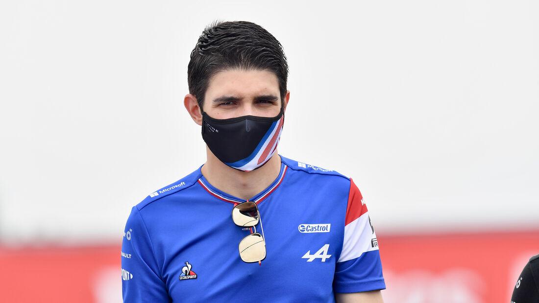 Esteban Ocon - Alpine - Formel 1 - GP Frankreich - 17. Juni 2021