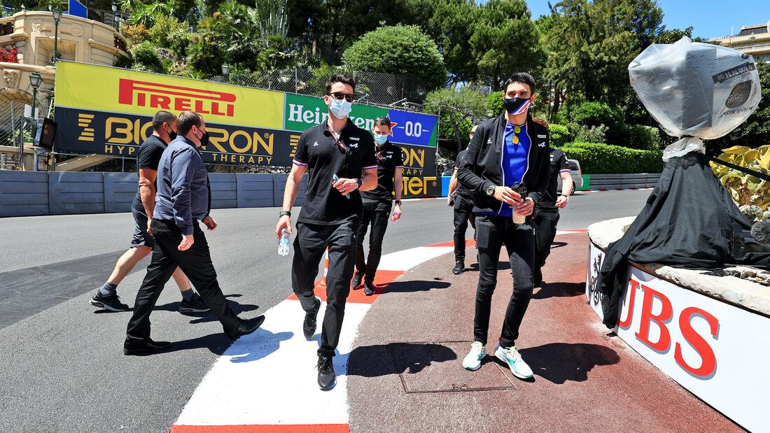 Esteban Ocon - Alpine - Formel 1 - GP Monaco - 19. Mai 2021