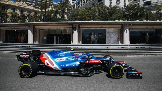Esteban Ocon - Alpine - Formel 1 - GP Monaco - 20. Mai 2021