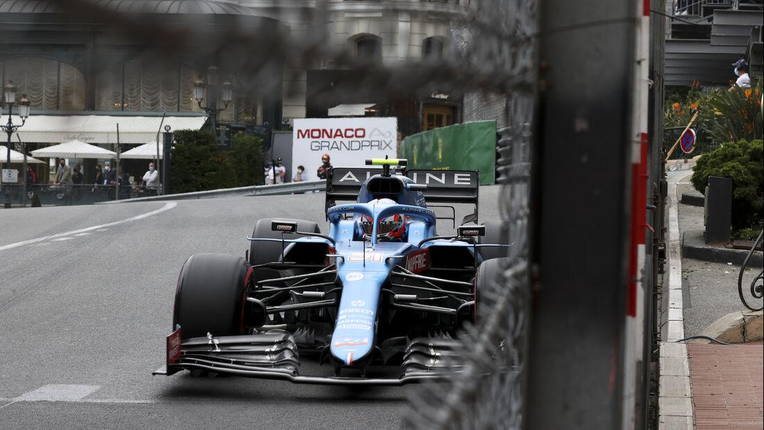 Esteban Ocon - Alpine - Formel 1 - GP Monaco 2021