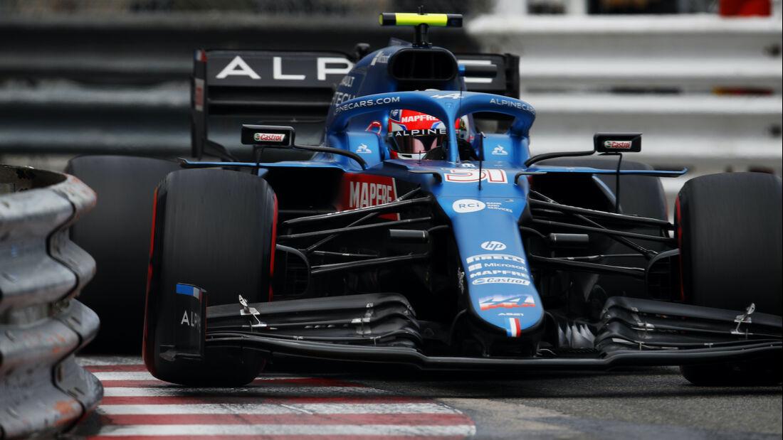 Esteban Ocon - Alpine - Formel 1 - GP Monaco - 22. Mai 2021