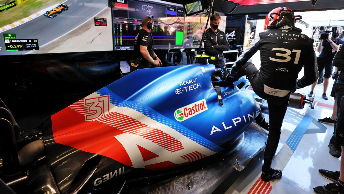 Esteban Ocon - Alpine - Formel 1 - GP Niederlande - 4. September 2021