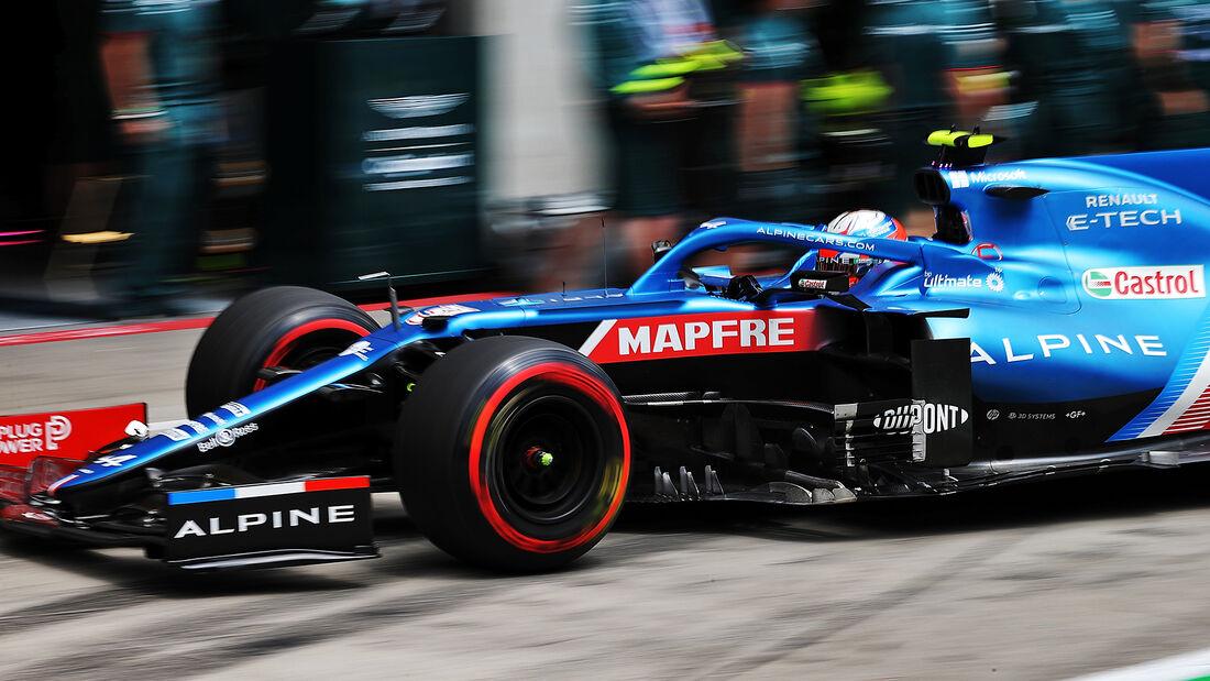 Esteban Ocon - Alpine - Formel 1 - GP Österreich - Spielberg - Freitag - 2.7.2021