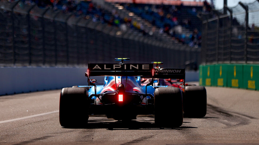 Esteban Ocon - Alpine - Formel 1 - GP Russland - Sotschi - 24. September 2021