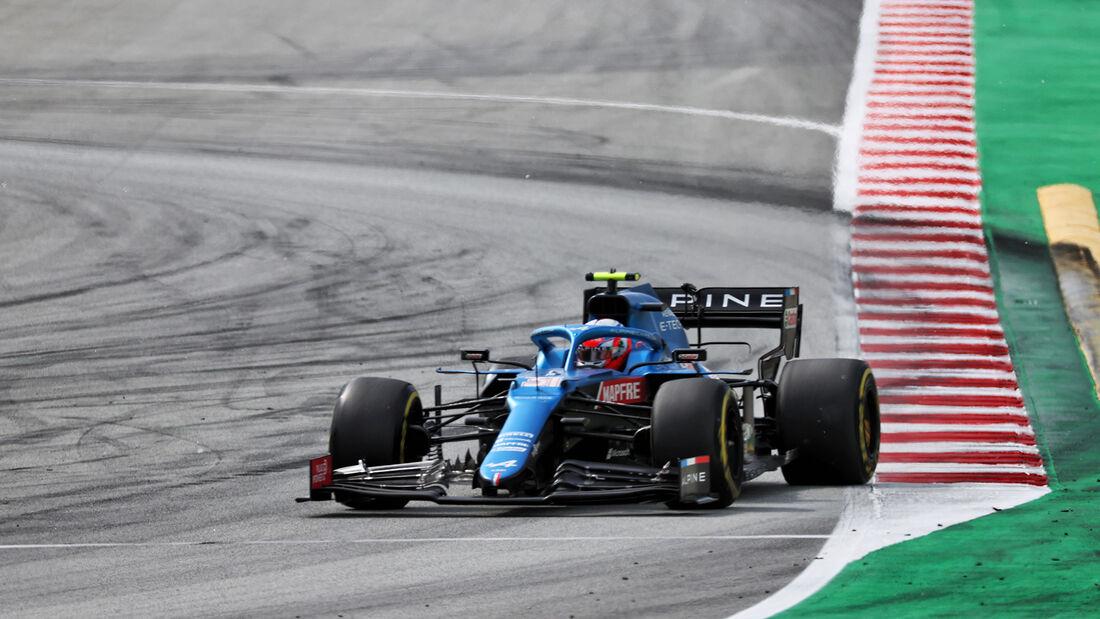 Esteban Ocon - Alpine - Formel 1 - GP Spanien 2021 - Barcelona - Rennen