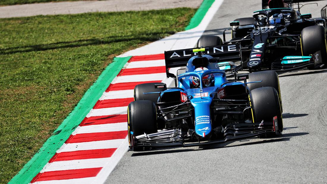 Esteban Ocon - Alpine - Formel 1 - GP Spanien - 7. Mai 2020