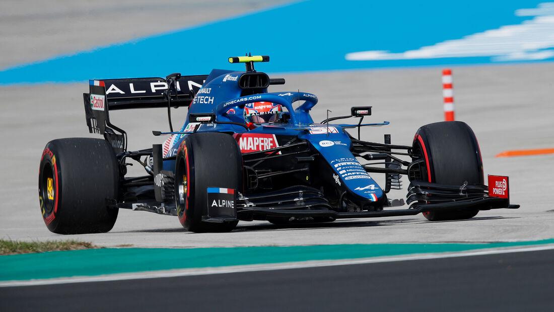 Esteban Ocon - Alpine - Formel 1 - GP Türkei - Istanbul - 8. Oktober 2021