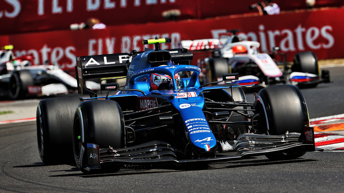 Esteban Ocon - Alpine - Formel 1 - GP Ungarn - Budapest - Freitag - 30. Juli 2021