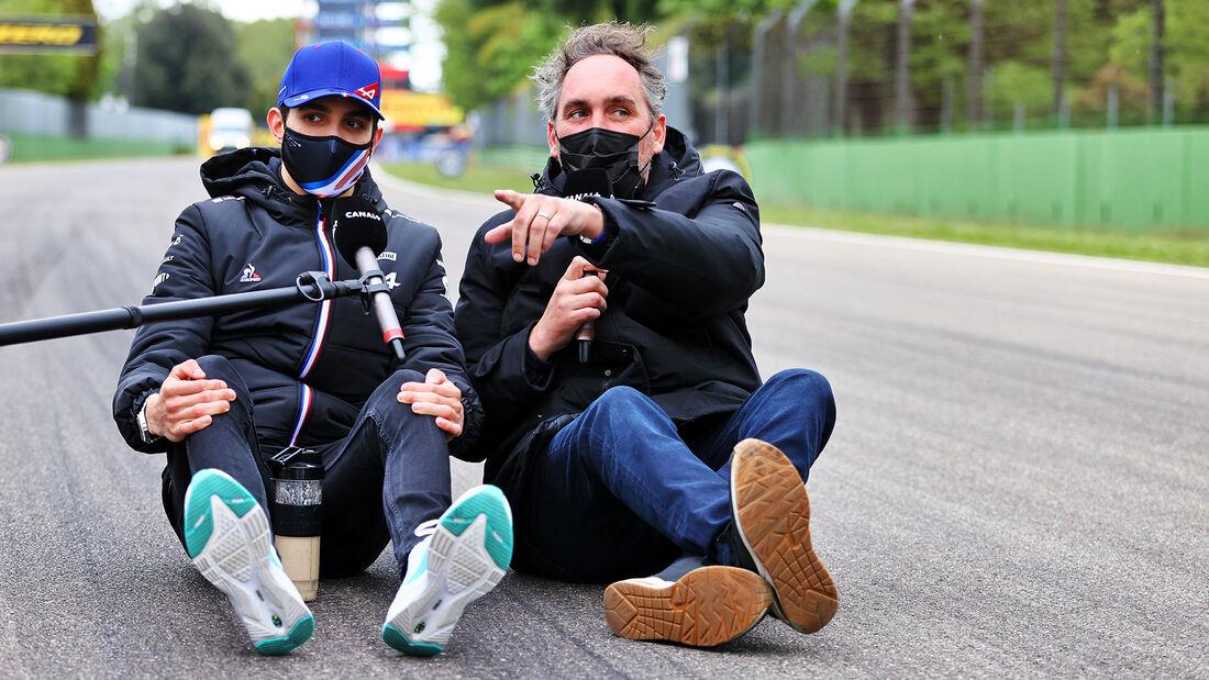 Esteban Ocon - Alpine - Formel 1 - Imola - GP Emilia-Romagna - 15. April 2021