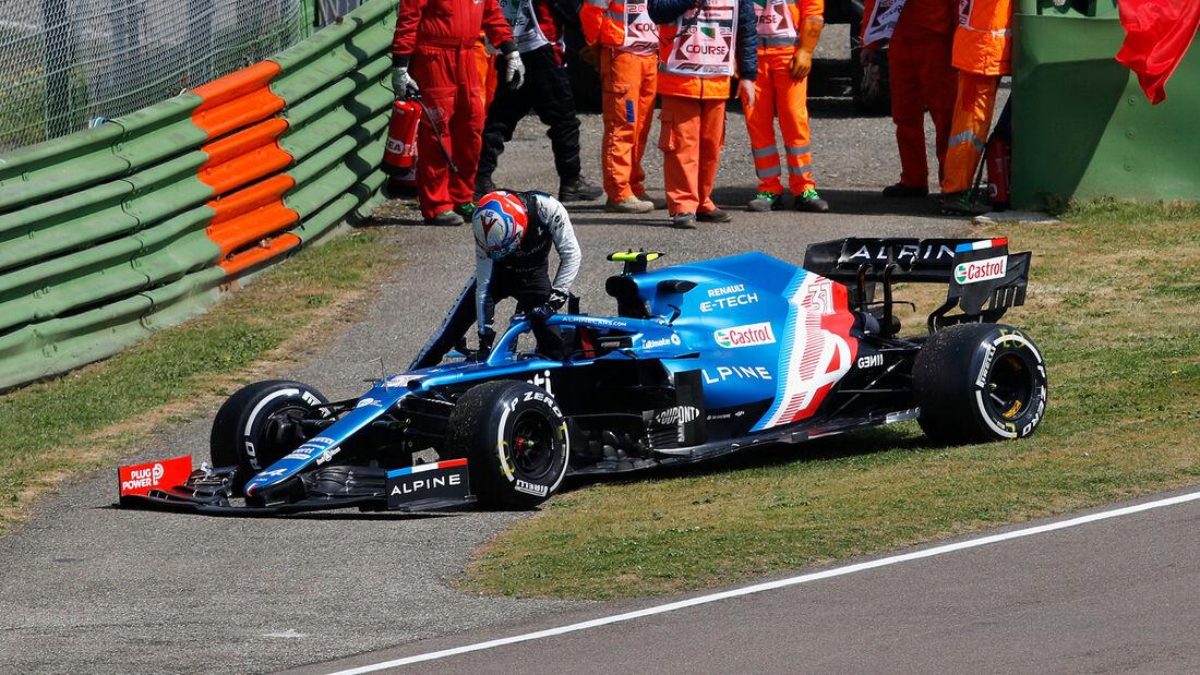 Esteban Ocon - Alpine - Formel 1 - Imola - GP Emilia-Romagna - 16. April 2021