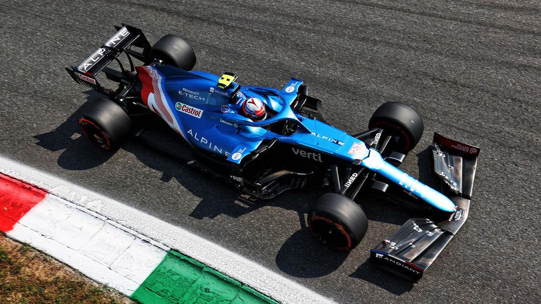 Esteban Ocon - Alpine - Formel 1 - Monza - GP Italien - 11. September 2021