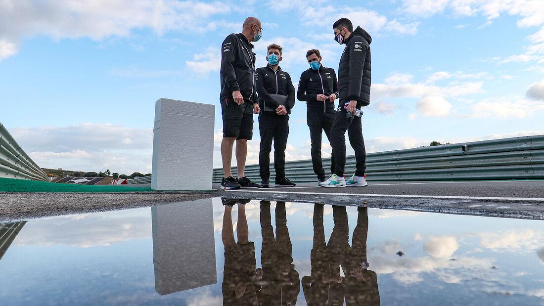 Esteban Ocon - Alpine - Formel 1 - Portimao - GP Portugal - 29. April 2021