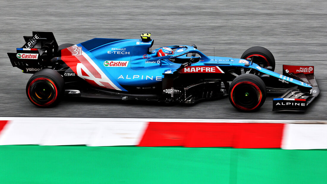 Esteban Ocon - Alpine - GP Österreich 2021