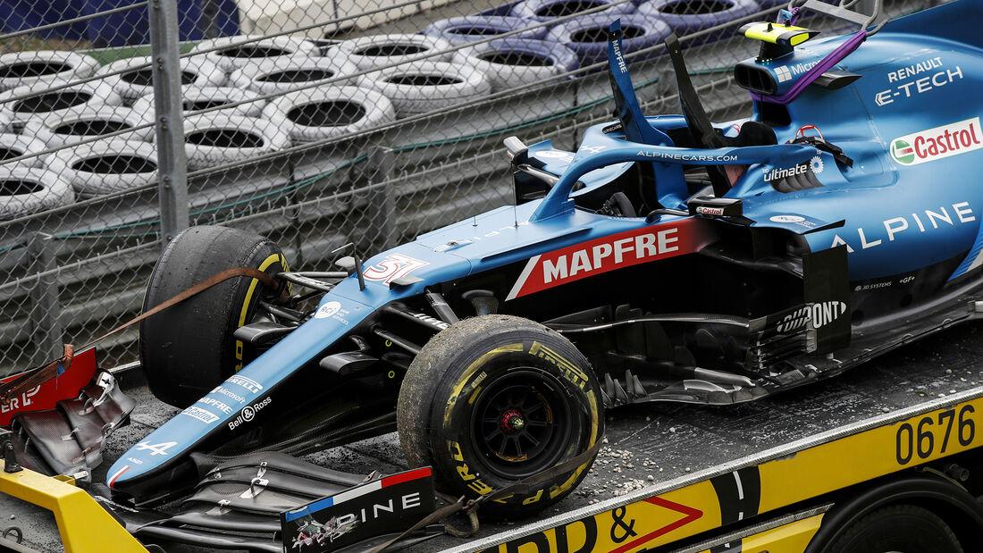 Esteban Ocon - Alpine - GP Österreich 2021 - Spielberg - Rennen