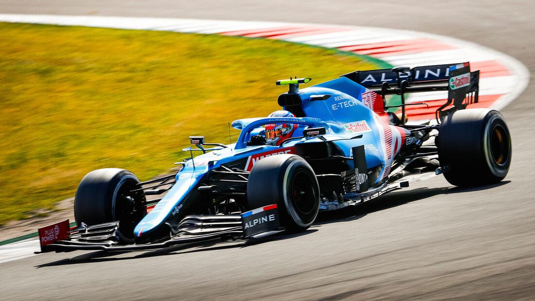 Esteban Ocon - Alpine - GP Portugal 2021 - Portimao