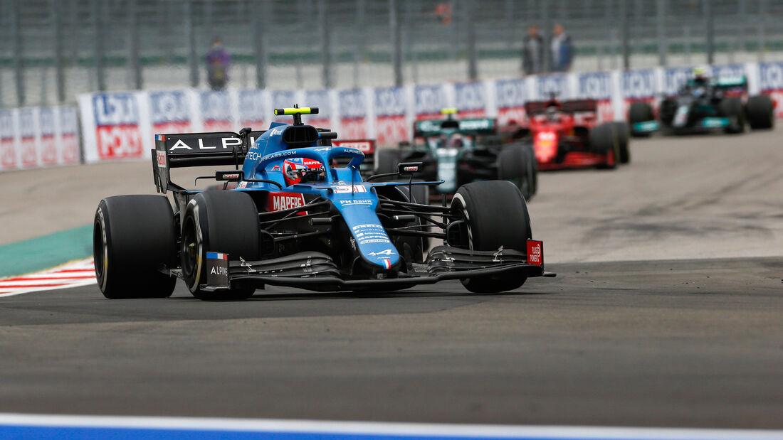 Esteban Ocon - Alpine - GP Russland 2021 - Sotschi