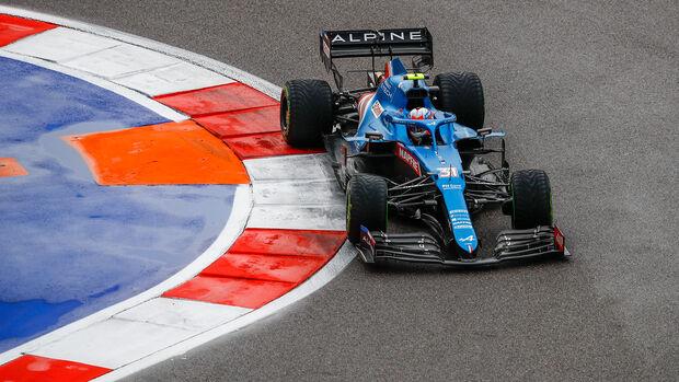 Esteban Ocon - Alpine - GP Russland 2021 - Sotschi - Qualifikation