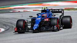 Esteban Ocon - Alpine - GP Spanien 2021