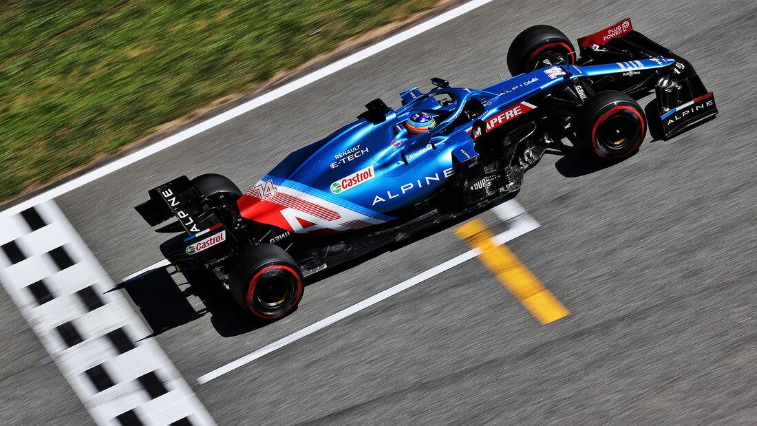 Esteban Ocon - Alpine - GP Spanien - Barcelona - Formel 1 - Samstag - 8.05.2021