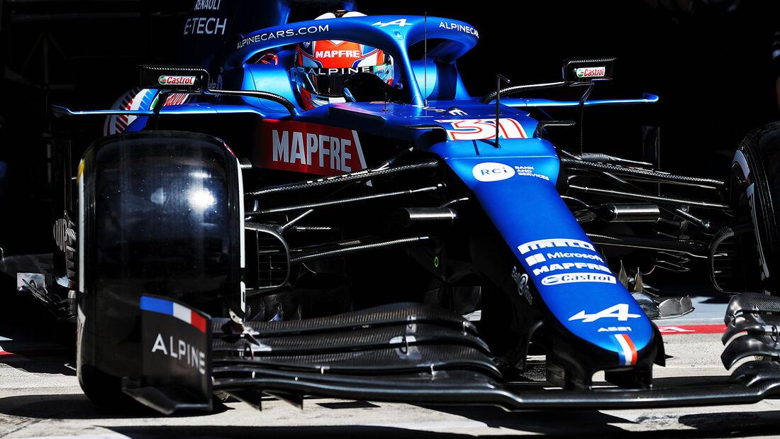 Esteban Ocon - Alpine - GP Steiermark - Spielberg - Formel 1 - 25. Juni 2021