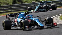 Esteban Ocon - Alpine - GP Ungarn 2021 - Budapest