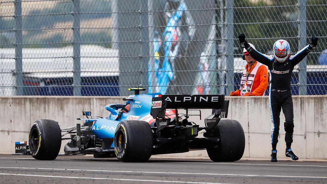 Esteban Ocon - Alpine - GP Ungarn 2021 - Budapest - Rennen