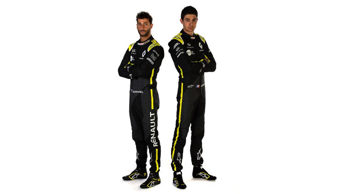 Esteban Ocon & Daniel Ricciardo - Renault - 2020
